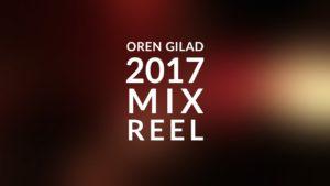 My 2017 Mix Reel
