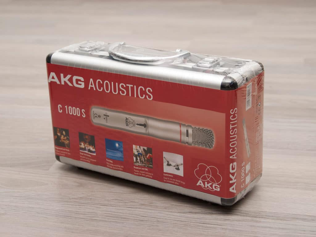 AKG C1000s Hard Case