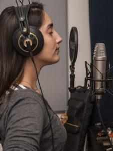 Dania in the Studio