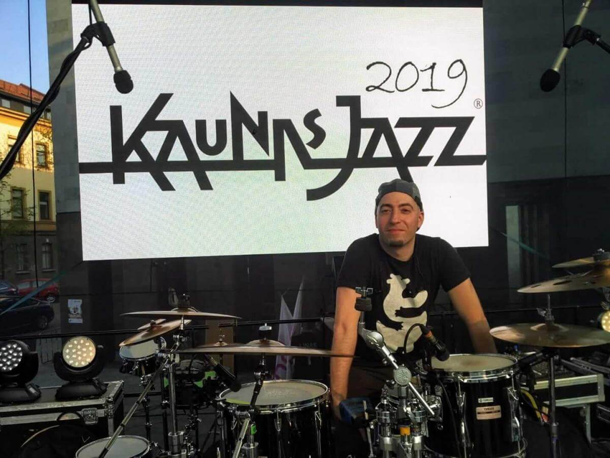Playing in Kaunas Jazz Festival (2019)